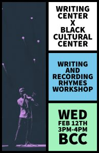 Writing and recording rhymes workshop