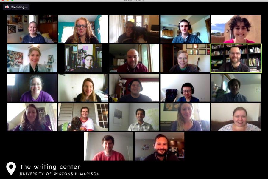 Screenshot of Spring 2020 Dissertation Writing Camp