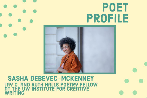 Poet Profile: Sasha Debevec-McKenney